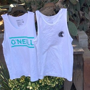 O'NEILL WHITE TANK BUNDLE!!!!